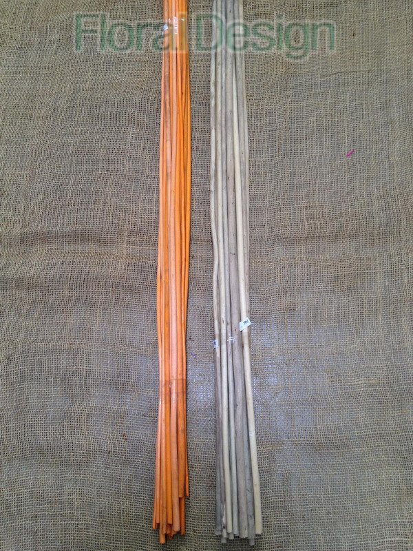 Juta stick 100 cm orange 20 ks
