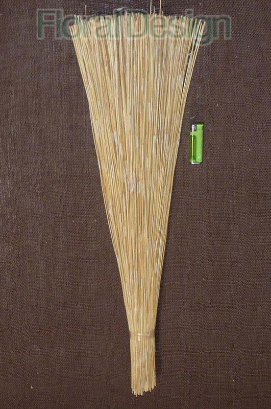 Cane reed 80cm bleached, 1 kg