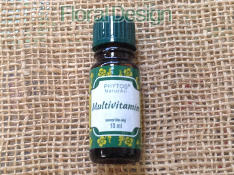 Multivitamín 10ml.