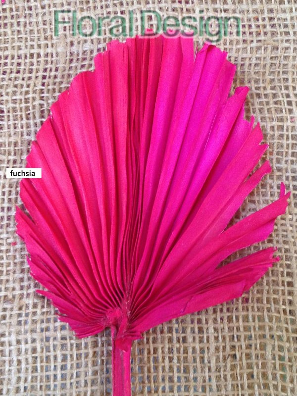 Palm round spear 10 ks fuchsia