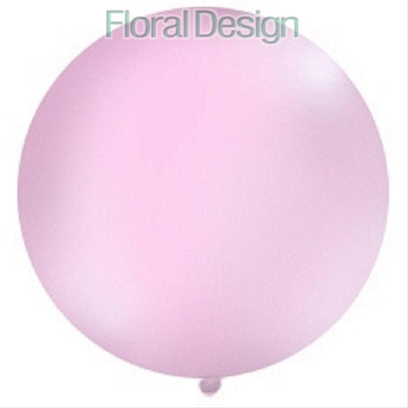 Balonek 1 m pastelový