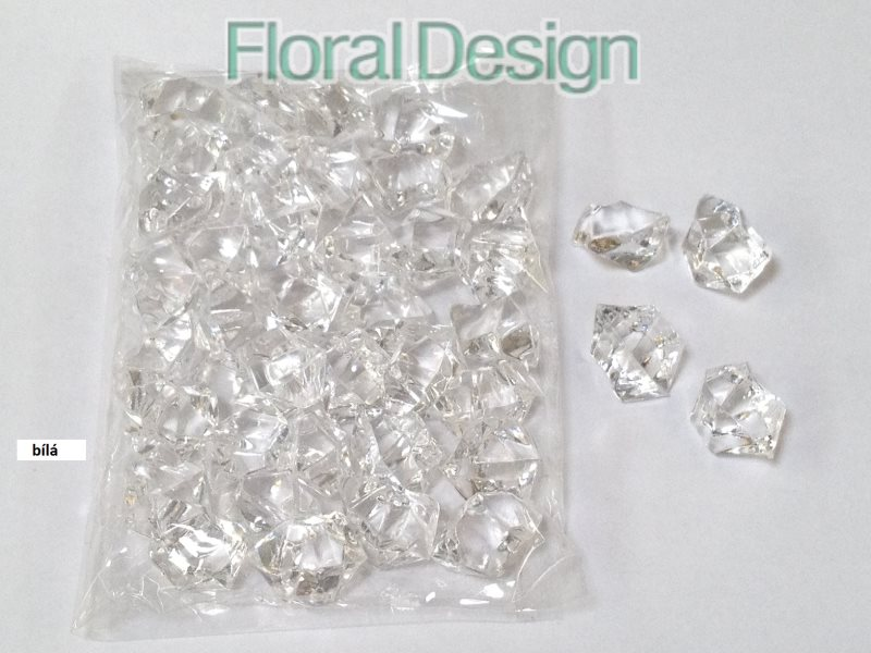 Diamant plast 20mm natur