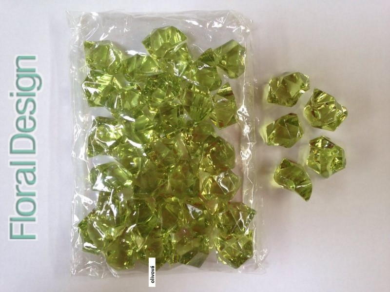 Diamant plast 20mm oliva