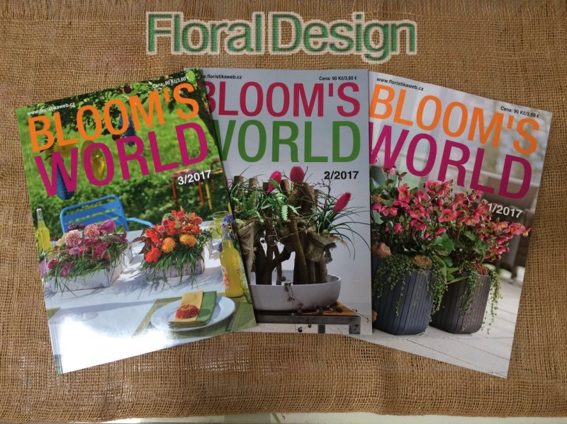 Blooms world + Floristika Plus 2017