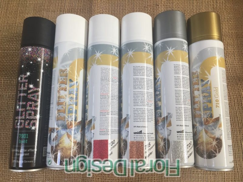 Spray s glitry 400ml.