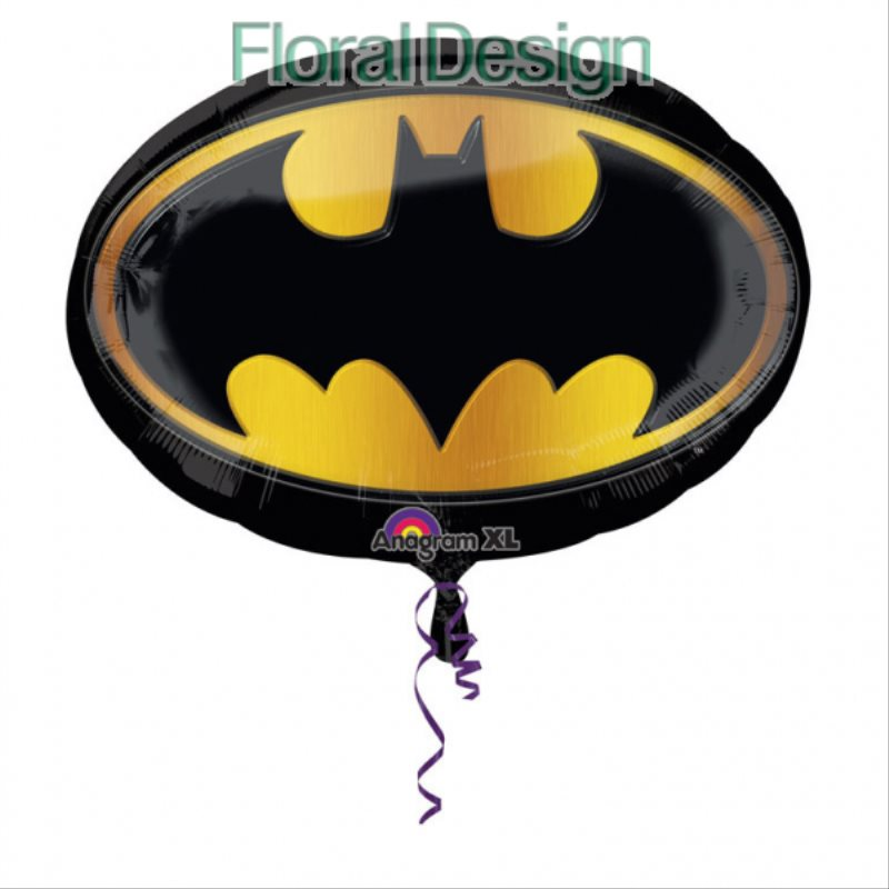 Balon foliový  68 x 48cm Batman