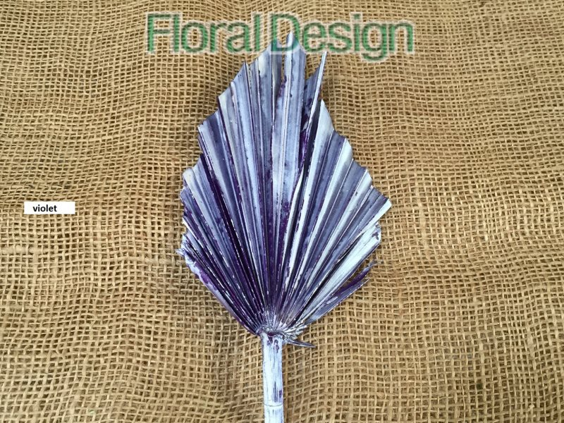 Palm spear medium peral 10 ks violet