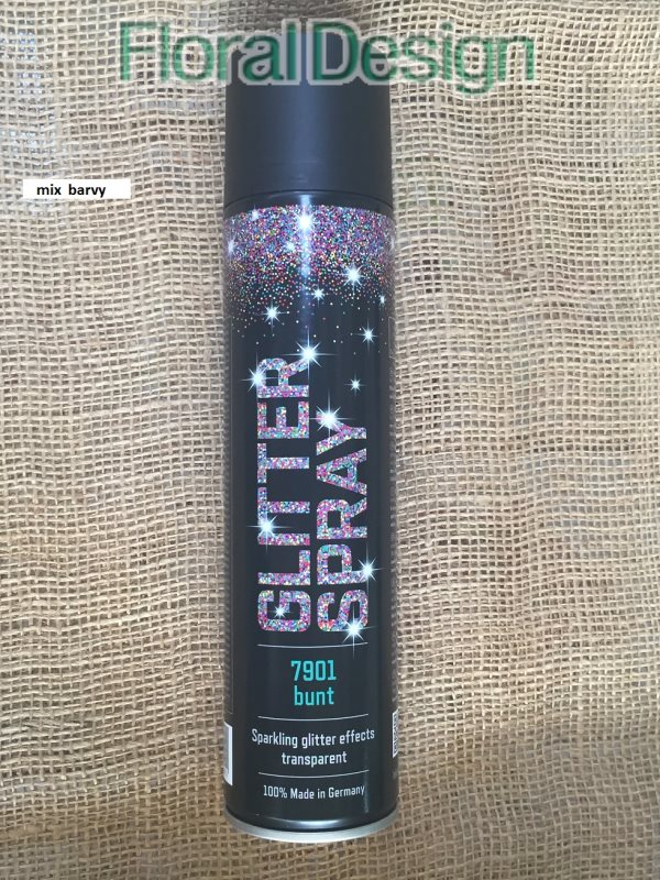 Glitry ve spreji 400ml. mix