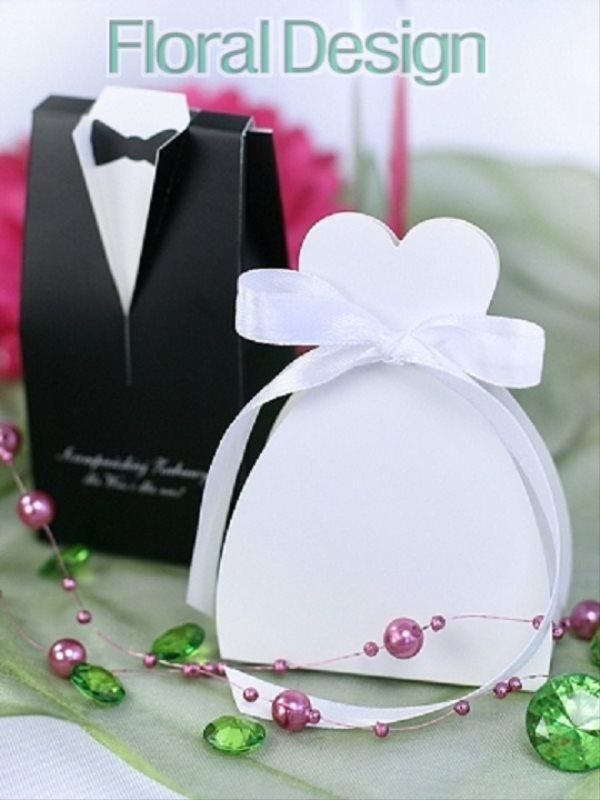 "Krabička na dárek ""Ženich"" 10 ks"