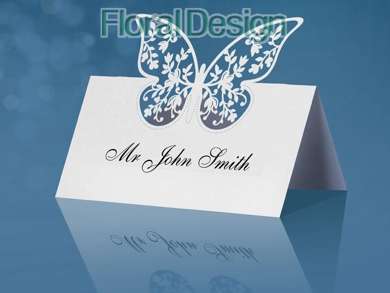 Jmenovka Motýl 9 x 7cm