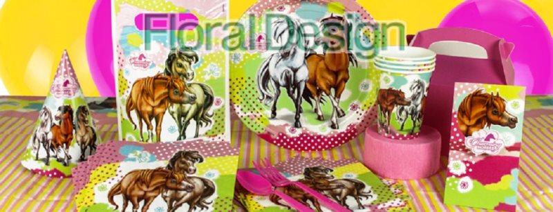 """Dárková taška """"Okouzlující koně"""" 6ks"""