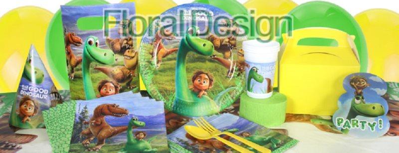 "Baner 9 vlajek ""Dinosauři"""
