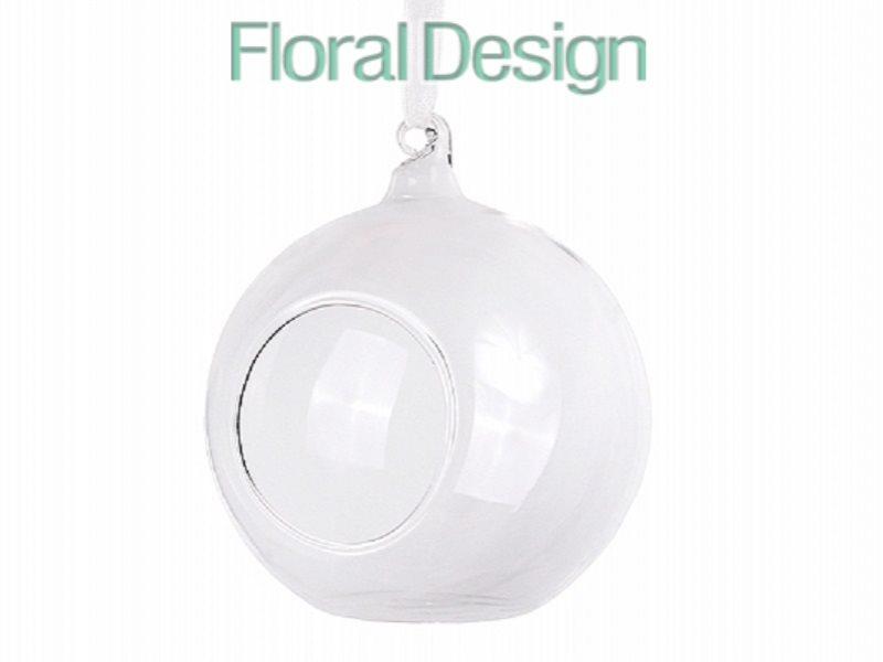 Koule - sklo závěsná průměr 10cm