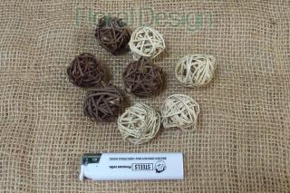 Lata ball 3cm brown